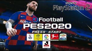 PES 2020 (PS2) English Version Iso لعبة بيس 20 بلايستيشن 2 من ميديا فاير