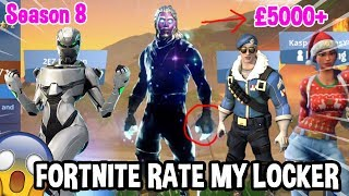 STACKED FORTNITE SKIN ACCOUNT - Galaxy Skin, Eon Bundle, Rare Skins - Season 8 Rate My Locker