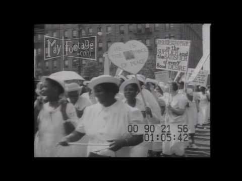 1933 HARLEM Stock Footage HD