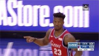 Jimmy Butler | Highlights vs Denver Nuggets (2.8.19)