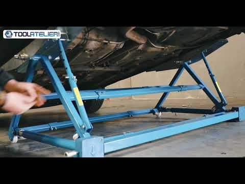 Pont Basculant Mobile Ajustable Pour Automobile Ta00205