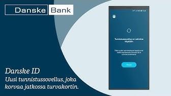 Esittelyssä Danske ID -tunnistussovellus