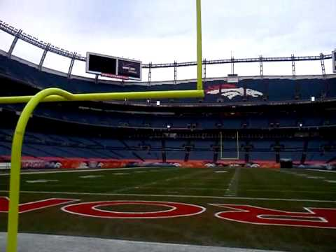 Endzone at Sports Authority Field at Mile High