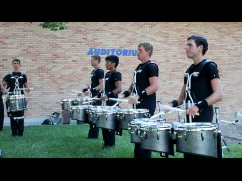 DCI 2009 - Colts Drums in the lot @ Hutchinson, KS - 7/13/2009