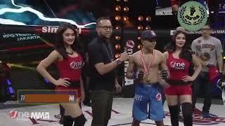 Video Full... Petarung MMA Sentuh Bagian Vital Ring Girl