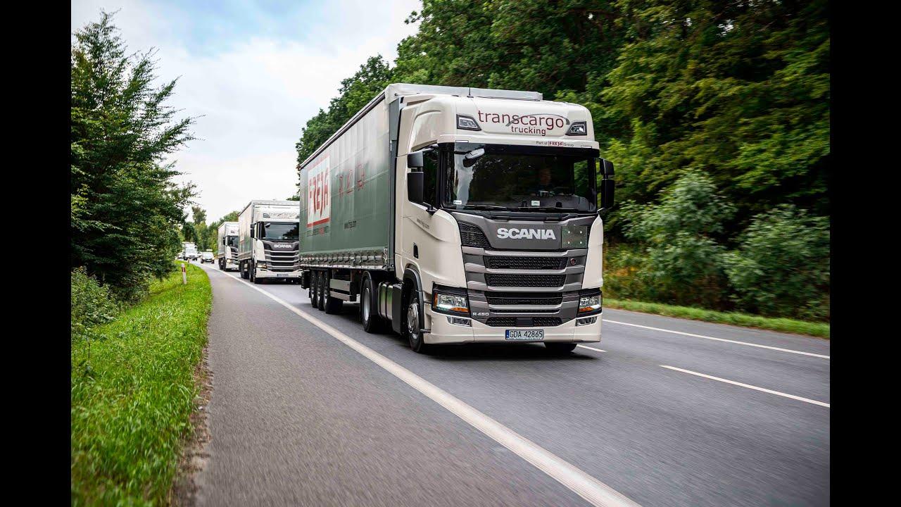 Pojazdy Scania dla firmy FREJA