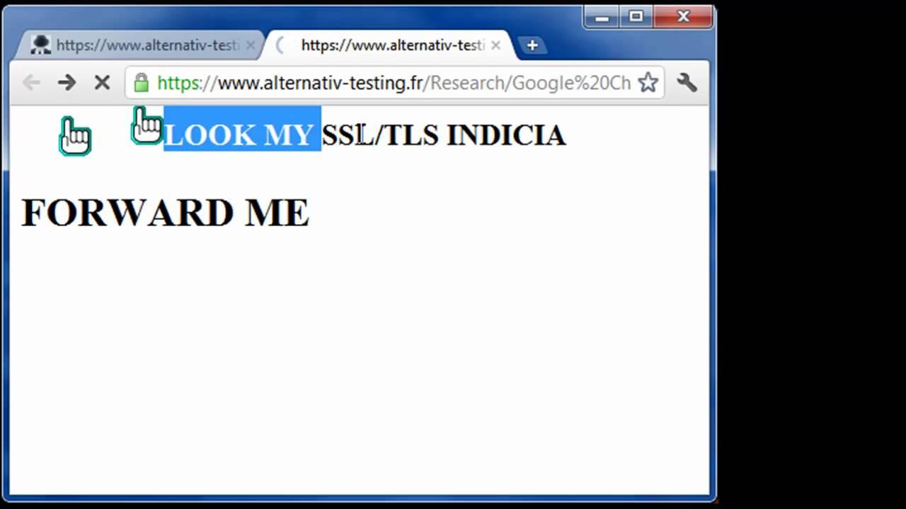 Google chrome ssl tls page info spoof youtube google chrome ssl tls page info spoof xflitez Gallery