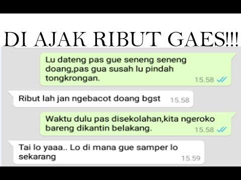 CHAT PRANK YOUNG LEX TEMAN PALSU - DI AJAK RIBUT GAESS