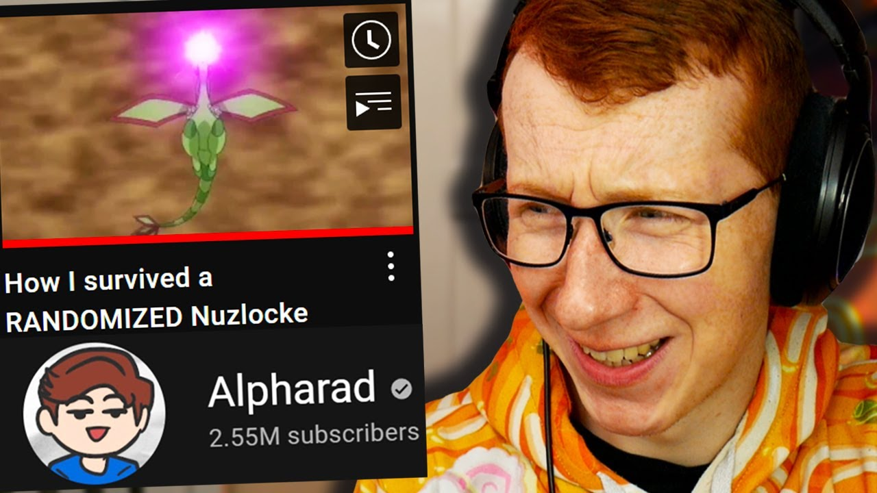 """Download Patterrz Reacts to Alpharad's """"How I survived a RANDOMIZED Nuzlocke"""""""