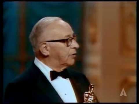 Arthur Freed receiving an Honorary Award