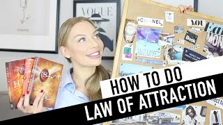 How I do Law Of Attraction - School Of Affluence