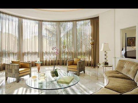 Шторы в Интерьере Гостиной - фото 2018 / Curtains in the Interior of the Living Room photo