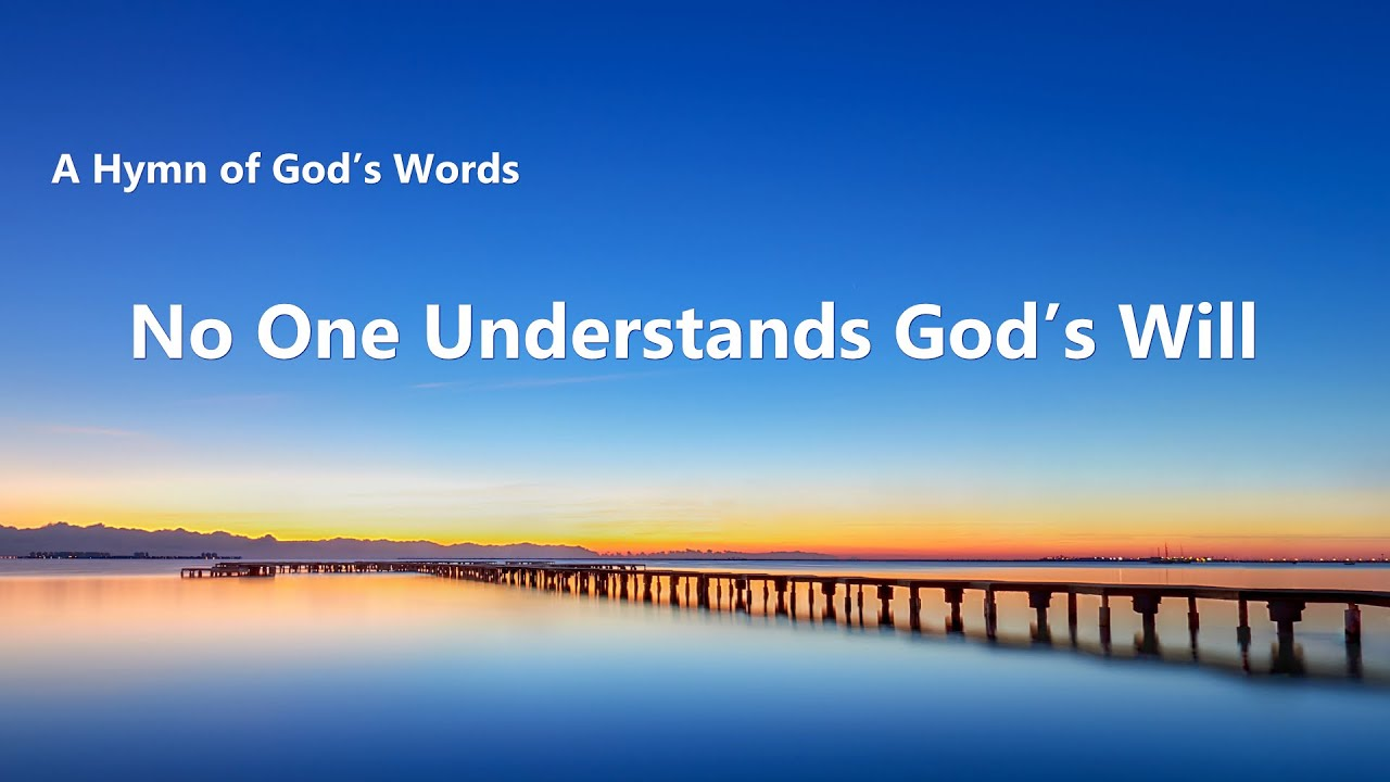 """""""No One Understands God's Will""""   2020 English Christian Song With Lyrics"""