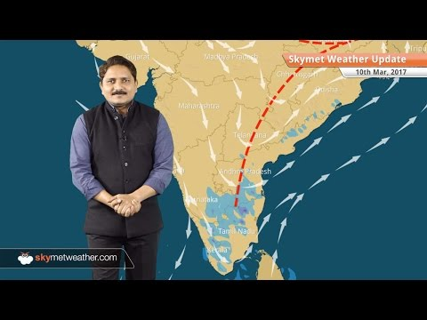 Weather Forecast for March 10: Pre-monsoon rains to intensify across country