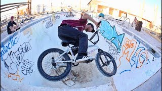 Riding Abandoned Pool in the Desert