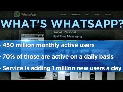 Facebook to buy Whatsapp for $19 billion