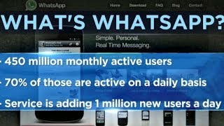 Repeat youtube video Facebook to buy Whatsapp for $19 billion
