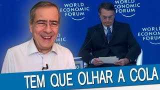 Bolsonaro envergonhou o Brasil em Davos