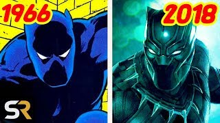 Black Panther's Evolution From Comics To The MCU