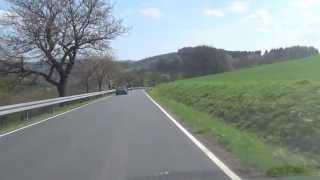 durch die Rühler Schweiz zur Kirschblütenzeit