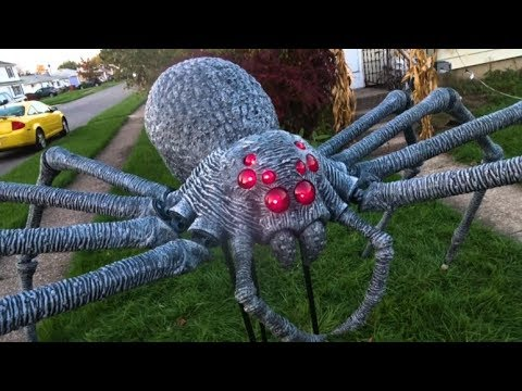home depot giant spider halloween decoration
