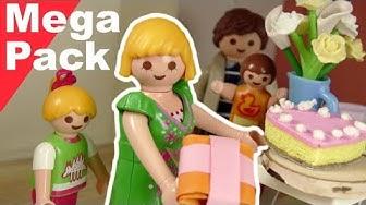 Playmobil Film deutsch - Geschichten mit Mama zum Muttertag - Mega Pack - Familie Hauser