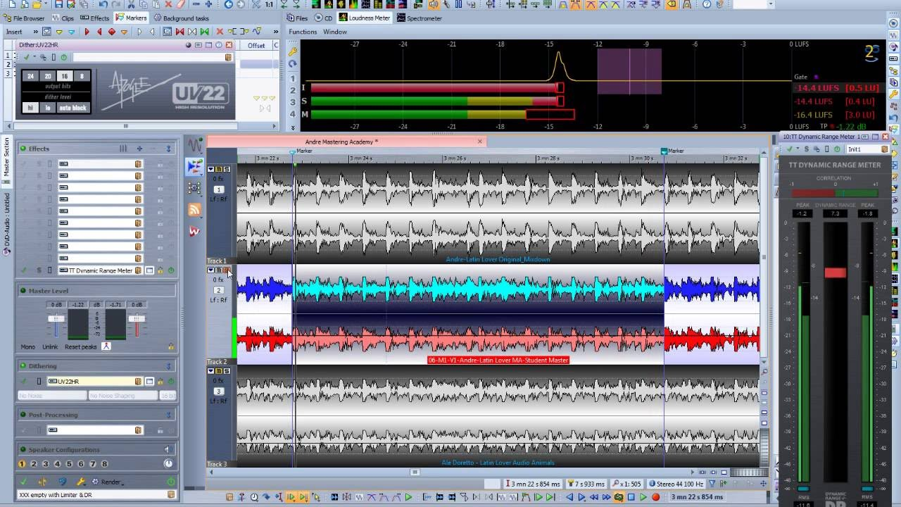 About musical & groove aspects of professional audio mastering of  Electronic Dance