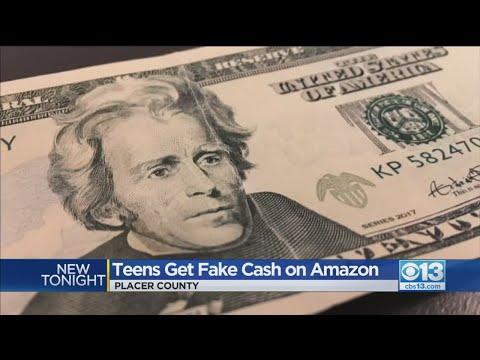 Teens Get Fake Cash On Amazon