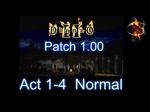 Version 1.00 - Act 1-4 Walkthrough - Diablo 2 - Xtimus