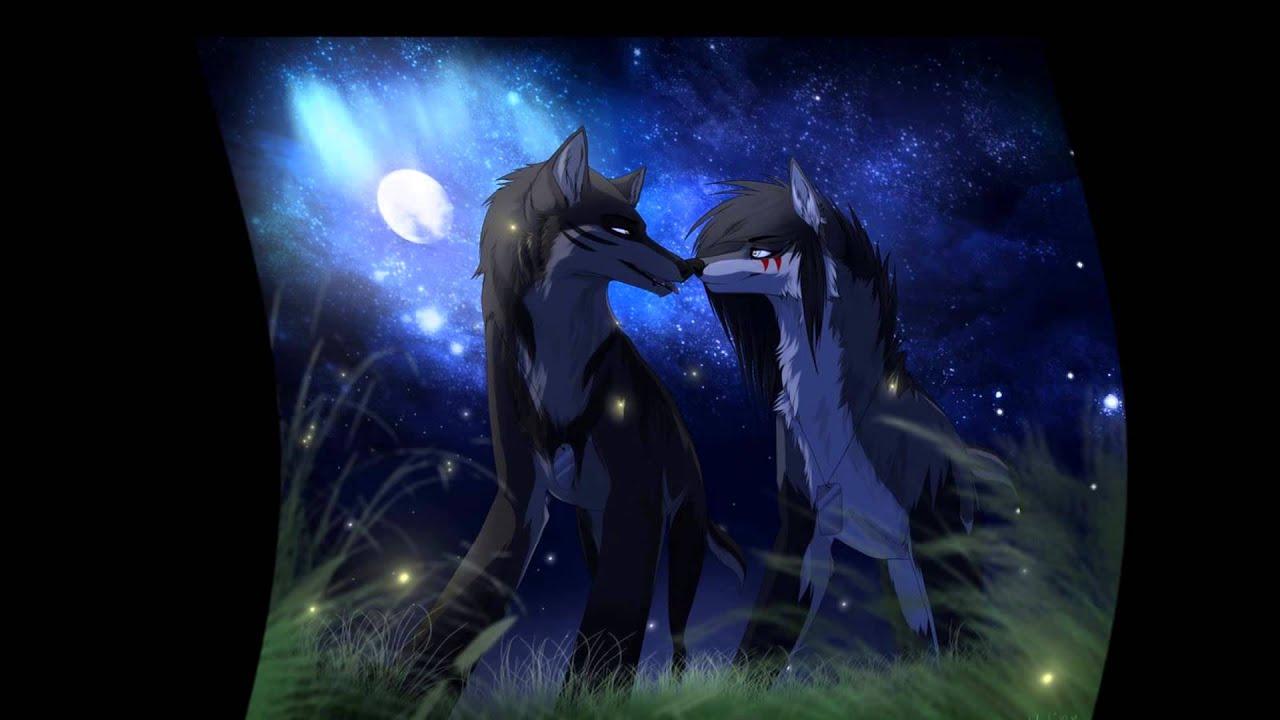 Anime Girl Walking On Moon Wallpaper Anime Wolves A Never Ending Dream Youtube