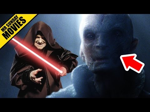 Who Is Snoke? (Darth Plagueis Theory) - STAR WARS: THE FORCE AWAKENS