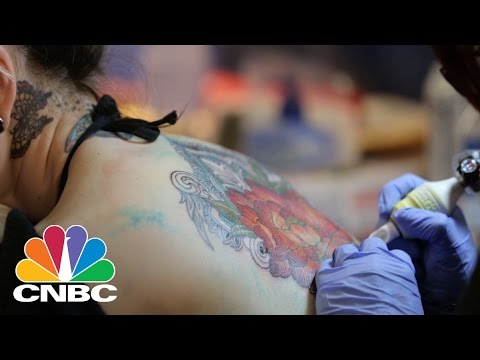 Would You Spend $55,000 On Tattoos? | CNBC