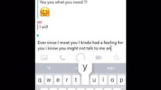 Telling my crush I like him (goes weird)