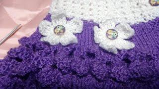 Как связать цветочки спицами (цветок) для манишки(Как связать цветочки спицами (цветок) для манишки http://bringingsuccess.ru/vyazanie.php В этом видео уроке мы будем вязать..., 2015-12-05T15:22:38.000Z)