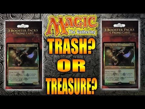 TARGET MAGIC THE GATHERING 3 BOOSTER PACKS!! TRASH?  OR TREASURE?