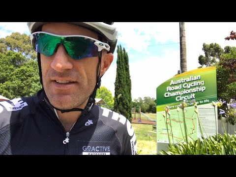 LAMA RIDES: Cycling Australia Road Nationals Course 2017