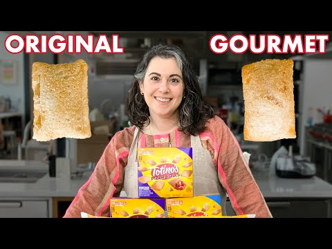 Pastry Chef Attempts to Make Gourmet Pizza Rolls | Bon Appétit