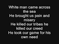 Iron Maiden - Run To The Hills Lyrics