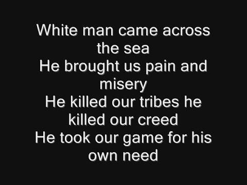 Iron Maiden  Run To The Hills Lyrics