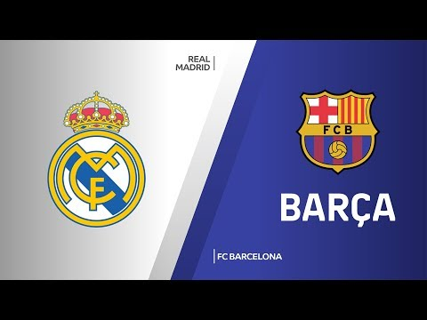 Real Madrid - FC Barcelona Highlights |Turkish Airlines EuroLeague, RS Round 8