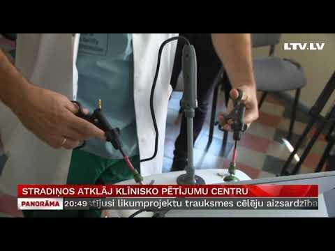 Stradiņos atklāj klīnisko pētījumu centru