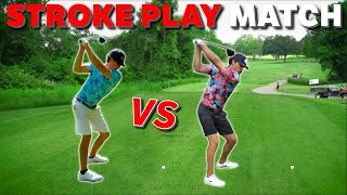 The Hardest Golf Course We've Played!? | 9 Hole Match | Stroke Play