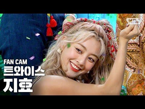 [안방1열 직캠4K] 트와이스 지효 'MORE & MORE' (TWICE JIHYO FanCam)│@SBS Inkigayo_2020.6.7