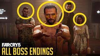 Gambar cover Far Cry 5 - All Boss Ending Scenes (Good and Bad Endings) CUTSCENE ONLY