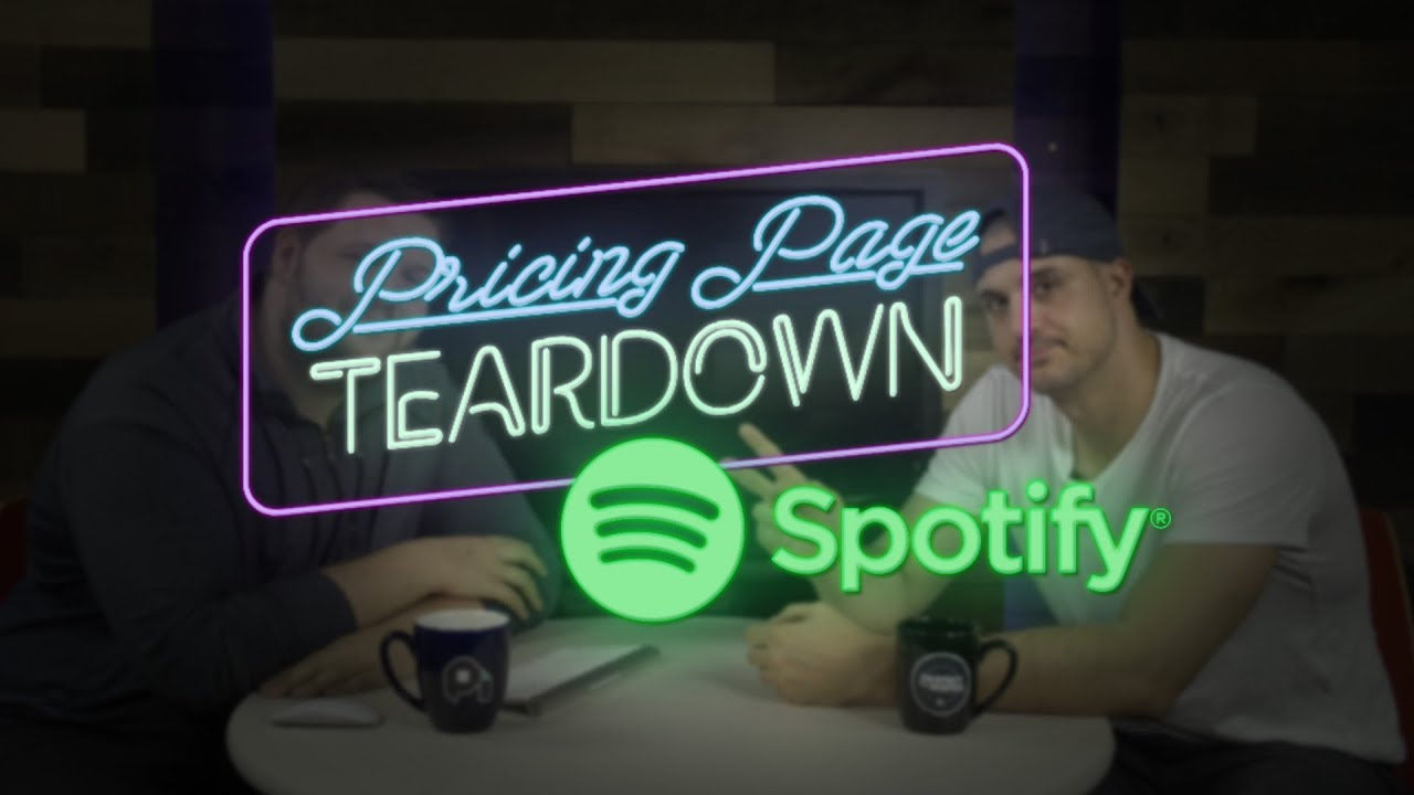 A Generation Unwilling to Pay for Music | Pricing Page Teardown
