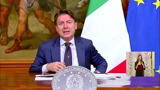 Decreto rilancio, Conte: