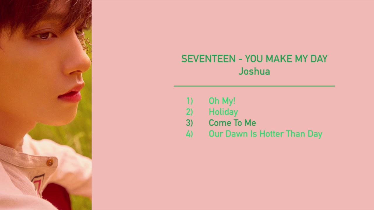 SEVENTEEN - You Make My Day - Joshua Cut