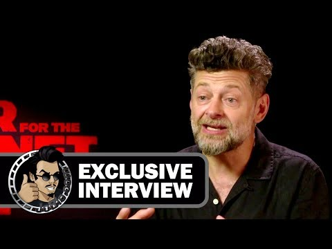 Andy Serkis Exclusive Interview for WAR FOR THE PLANET OF THE APES (2017)