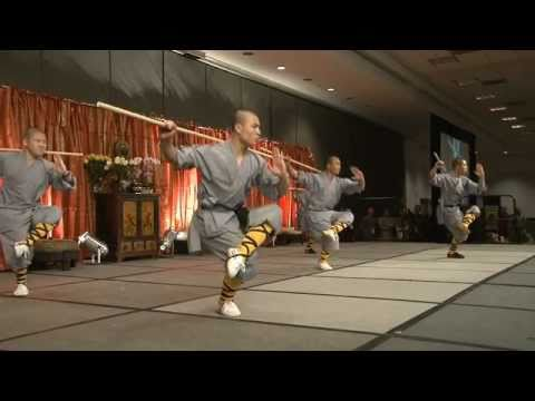Opening Demonstration by Shaolin Warrior Monks at the 1st Shaolin Summit