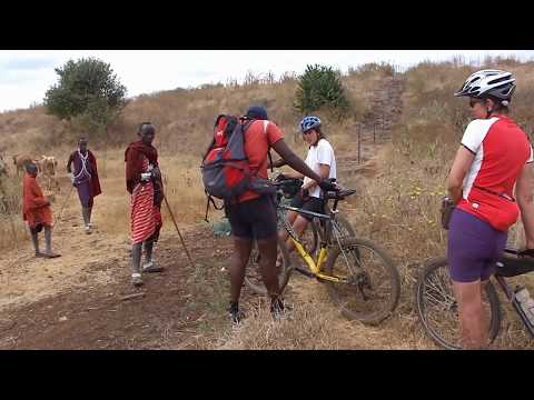 """Club Fred"" MTB biking from Nairobi through Amboseli all around Kilimanscharo"